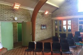 Commercial – Radiant Heating Installation in Church