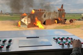 Industrial – Control Panel Replacement for Fire Training Facility