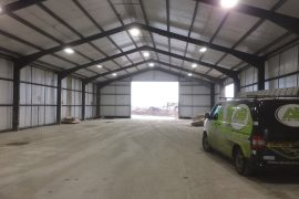Industrial – Farm Storage Building